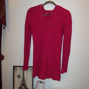 JUICY COUTURE HOODIE TUNIC SZ P (SM)